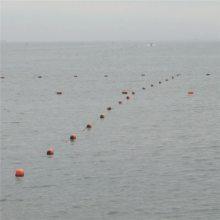 直销水上赛场警示浮标 内河施工警示浮标 水库专用塑料浮球