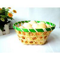 竹篮生产厂家 鸡蛋包装篮 竹编包装筐 小竹篮批发 装鸡蛋竹篮