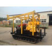 徐州中地钻探机定制GK-180型 液压钻机履带式改装 岩心钻机