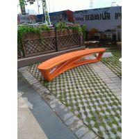 厂家直销玻璃钢定制商场广场休闲坐凳 向上玻璃钢制品加工定做