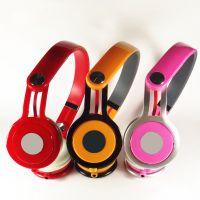 2014年深圳工厂批发现货红色魔音mixr耳机头戴式mp3电脑游戏耳麦