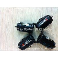 新款迷你双USB车充,深圳厂家直销GREEN三星华为手机充电器