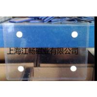透明PVC磁性标识牌 PVC磁铁标识牌材料卡 仓库货架展位PVC磁性标签 磁铁透明标签袋 磁性标签