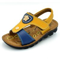2015夏天新款宝宝外贸品牌儿童鞋真皮凉鞋 男童鞋子一件代发鞋子