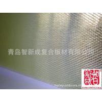 青岛pc板低价批发 塑料芯蜂窝板 pc复合透明塑料板材 3.5mm