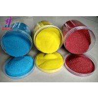 嘉硕建材厂家供应染色彩砂 烧结彩砂不掉色彩砂 规格颜色可定做