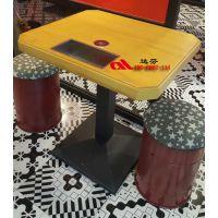 达芬无线智能充电实木餐桌,为您打造全新个性智能餐厅