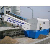 青州志成机械丨单车位、双车位、三车位砂石分离机,厂家直销