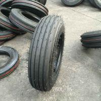 农机具轮胎7.60L-15 收割机轮胎 拖拉机轮胎