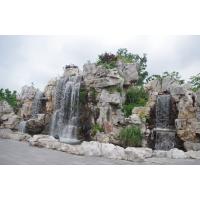 假山流水|青城艺景|真石假山|塑石假山
