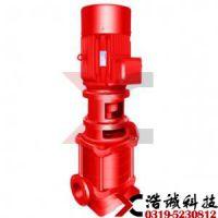 贵州小型消防泵浩诚XBD-DL型立式多级消防泵