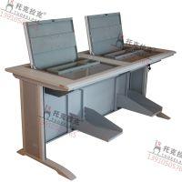 托克拉克TKLK-01双人学生机房电脑桌厂家直销培训教室专用简约现代款