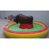 疯狂电动斗牛机游乐设备 西班牙斗牛游戏机 户外拓展挑战斗牛机玩具现货