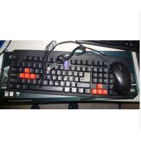 联想 LX-D4000 鼠键套装 LX防水电脑游戏键盘 联想鼠键套装P+U鼠