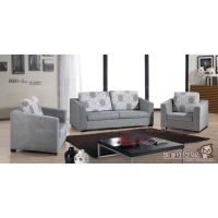 御皇 休闲布艺沙发 客厅沙发组合 三件套 两单位加一双位 休闲椅
