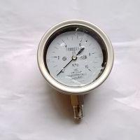 不锈钢耐震膜盒压力表 充油微压力 微压表