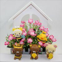 批发卡通动漫玩偶公仔 日本Rilakkuma轻松熊摆件 5款轻松熊