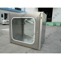 大峰净化 供应 钢板烤漆传递窗 内500型