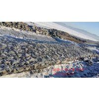 武汉国标5%锌铝合金低碳钢丝石笼网厂家 河道生态防洪护岸石笼网垫施工规格型号 价格