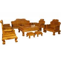 鲁创红木厂家直销--金丝楠沙发