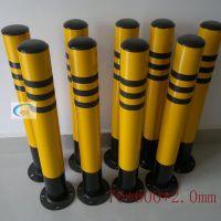 深圳钢管防撞柱厂家 镀锌管反光柱 道路防护路柱 润发达交通设施