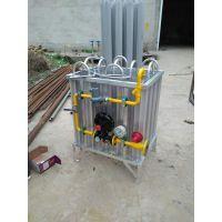 河北厂家专业制作LNG气化调压一体撬装设备/50立方 150立方小型气化减压设备 LNG汽化器