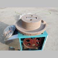 大型电动石磨机 芝麻酱电动石磨 鼎信现货供应