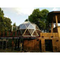 帐篷酒店厂家 球形玻璃帐篷厂家 景区营地圆形透明篷房