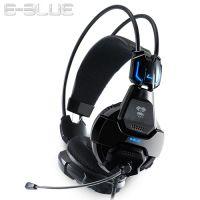 宜博/E-BLUE 头戴式悬浮式双头梁 HS707眼镜蛇游戏耳机 USB麦克风