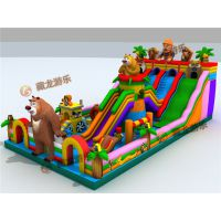 儿童益智玩具充气城堡什么价位,买一套儿童充气蹦蹦床设备需要多少钱?