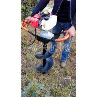 便携式挖孔机 富兴大功率手提植树挖坑机 打孔机