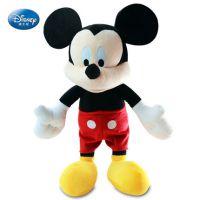 长亿迪士尼正品米老鼠米奇公仔 毛绒玩具 米妮米奇婚庆娃娃生日礼物