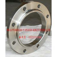 广西现货供应304不锈钢DN50平焊法兰 平板法兰 PN16对焊法兰