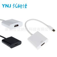 mini dp to hdmi 迷你dp to hdmi线 minidp转hdmi 苹果转接线