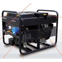 8千瓦三相科勒双缸风冷汽油发电机组