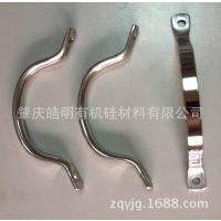 不锈钢硅胶手柄 精密铸造锅柄 炊具配件