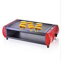 大号电烧烤炉 无油烟 家用室内烧烤 韩式铁板烧烤 自助烧烤专用