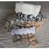 辰昱绣布、水溶性花边、玻璃纱花边、定型纱花边、TC布花边、纯棉花边