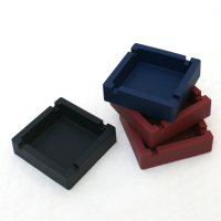 促销礼品硅胶烟灰缸 耐摔环保烟灰缸 硅胶赠品定制