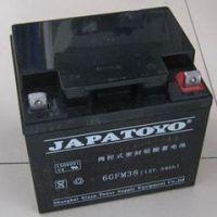 全新东洋蓄电池6-GFM-38 东洋12V38AH铅酸免维护UPS阀控式蓄电池