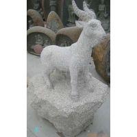 供应石雕动物雕刻羊(图)     花岗岩石雕工艺品