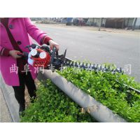修剪茶树用双刃绿篱机 润丰 汽油手提绿篱机