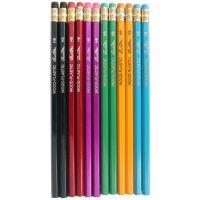 顺手油漆铅笔 学生文具用品批发厂家直供 可来样定做各类木杆铅笔
