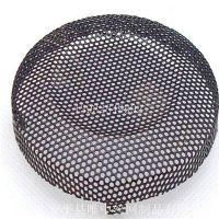 安平唯中 供应 直径30cm 散热性优良的 音箱 铁板镀锌喷塑 冲孔网罩