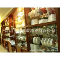各种类卷装面材料涂背带底纸自粘不干胶或无残留可移胶加工