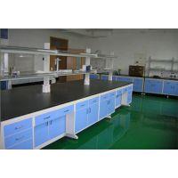 广西桂林钢木中央实验操作台 迈瑞尔铝木边台mre-zyt