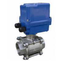 山东LDCTF-004微型电动阀厂家 微型电动阀报价图片 山东海电阀门