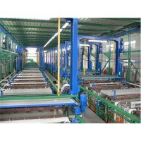 挂镀生产线设备厂家_半自动挂镀生产线_菲益德电镀设备