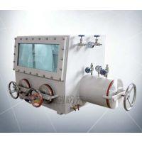 上海实验室用真空手套箱 不锈钢真空操作箱 GBV-2隔离简易手套箱