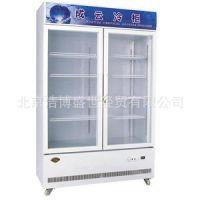 成云带灯箱双门立式展示柜LG-760D 冷藏柜 保鲜柜 冰箱 厂家直销